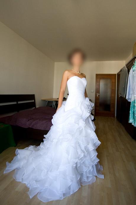 Princeznovské svatební šaty (vel.34-38), 34