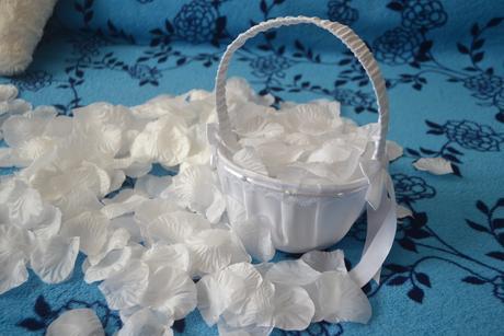 Biele lupienky ruží,