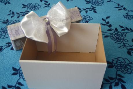 Krabička na blahoželania alebo peniaze,