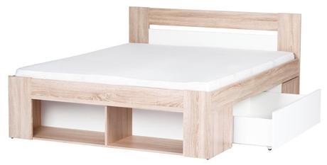 Drevená posteľ Milo,