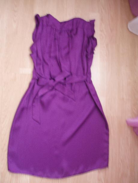 fialove šaty, 40