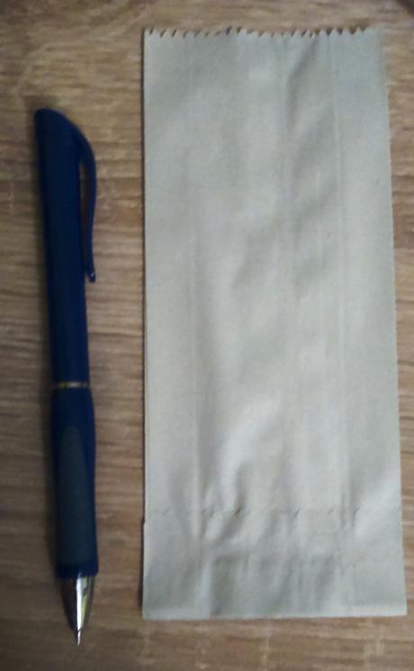 papierové vrecká na drobnosti,
