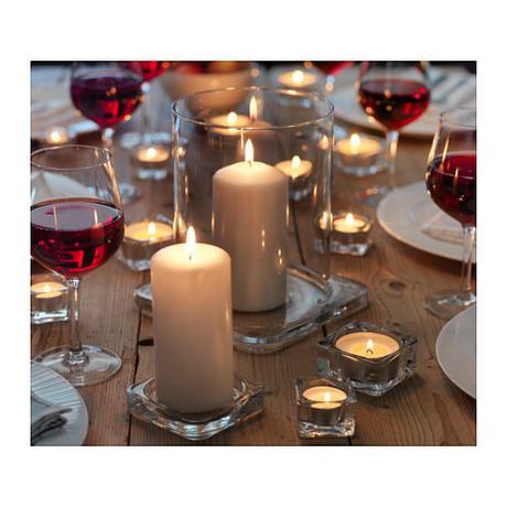 Svícny pod svíčky ,