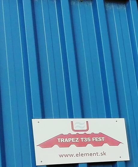 Trapézový plech T35 fest,