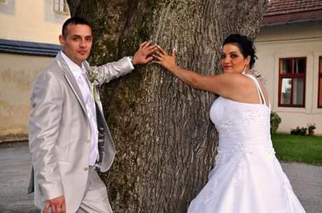 Svadobný oblek+ vesta+ kravata , 52