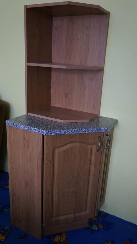Spodná rohová skrinka do kuchyne,