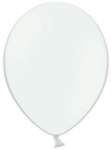 Balónek pastelový ø 27 cm bílý,