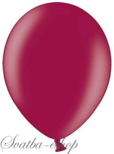 Balónek pastelový ø 27 cm burgundy,