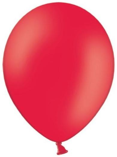 Balónek pastelový ø 27 cm červený,