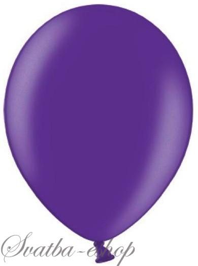 Balónek pastelový ø 27 cm fialový,