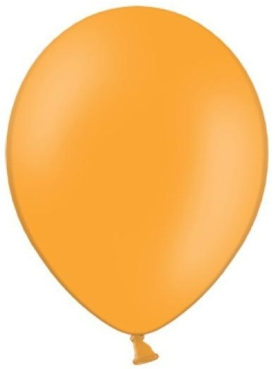 Balónek pastelový ø 27 cm oranžový,