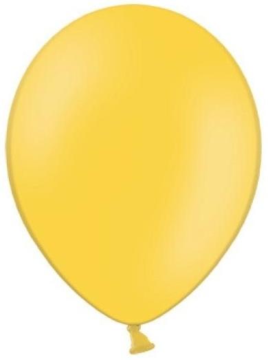 Balónek pastelový ø 27 cm žlutý,