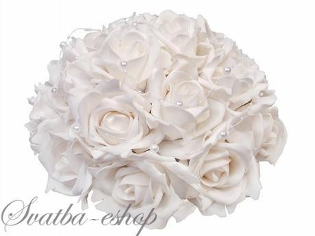 Buket bílé růže,