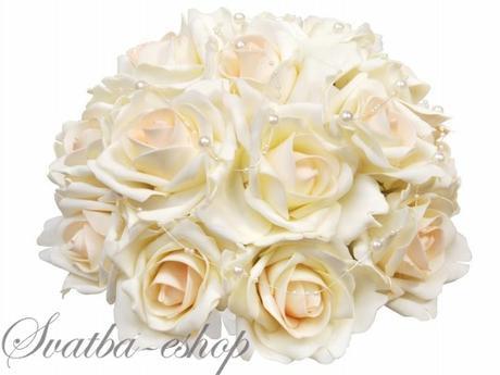 Buket ivory růže,