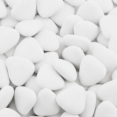 Čokoládové srdíčko bílé 1 ks,