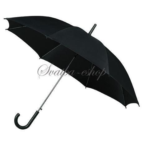 Deštník černý pro ženicha,