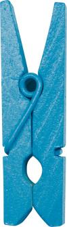 Dřevěný dekorační kolíček tyrkysový,