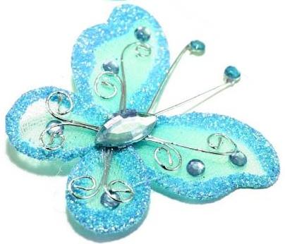 Motýlek tyrkysově modrý,