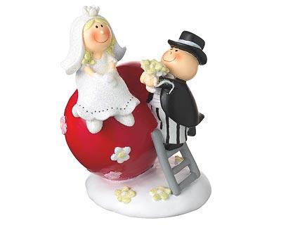 Nevěsta a ženich pokladnička Mila design,