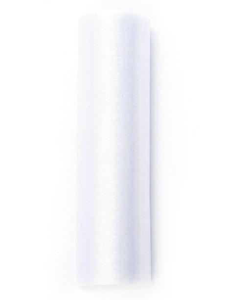 Organza 16 cm x 9 m bílá,