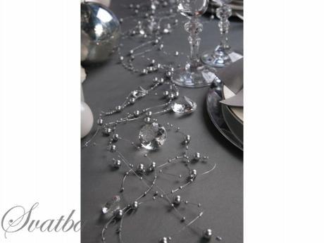 Perličky na silikonu stříbrné,