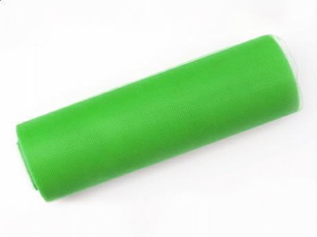 Tyl 15 cm x 9 m zelený,