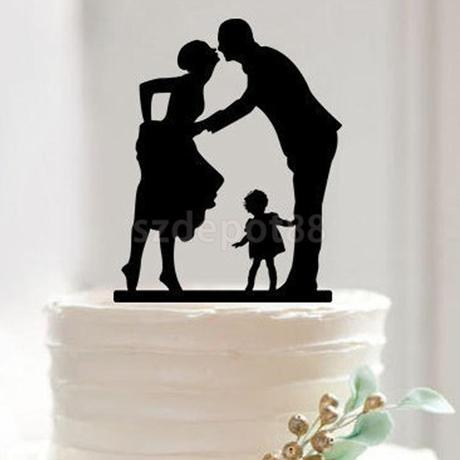 Cake topper - dítě,