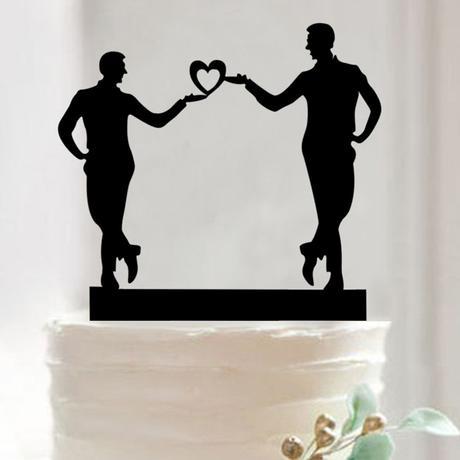 Cake topper Pánové,