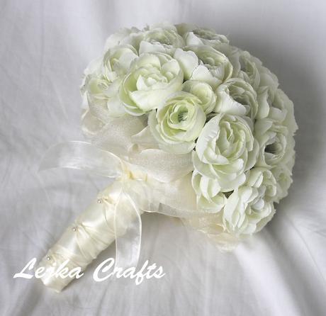 Cream ranunculus,