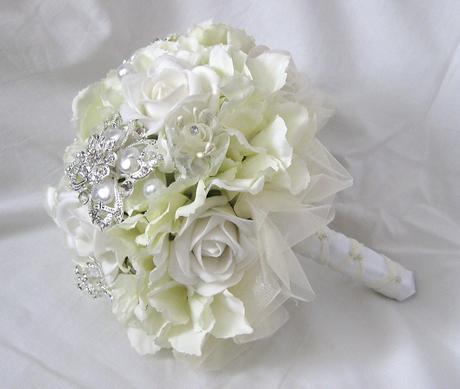 Svatební romantická kytice,