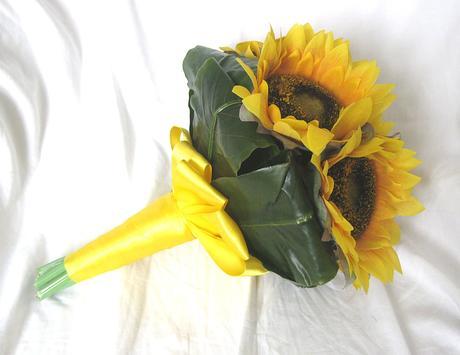 Svatební slunečnicová,