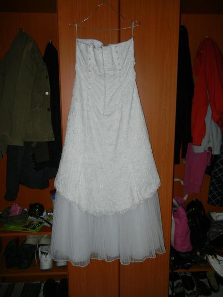 Svadobné šaty v. 36-40, 38