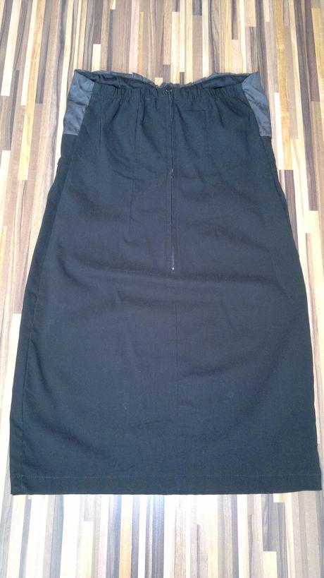 Šaty čierno šedé, M