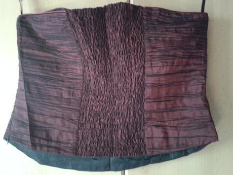 spoločenské šaty(sukňa plus korzet, štóla) veľ.44, 44