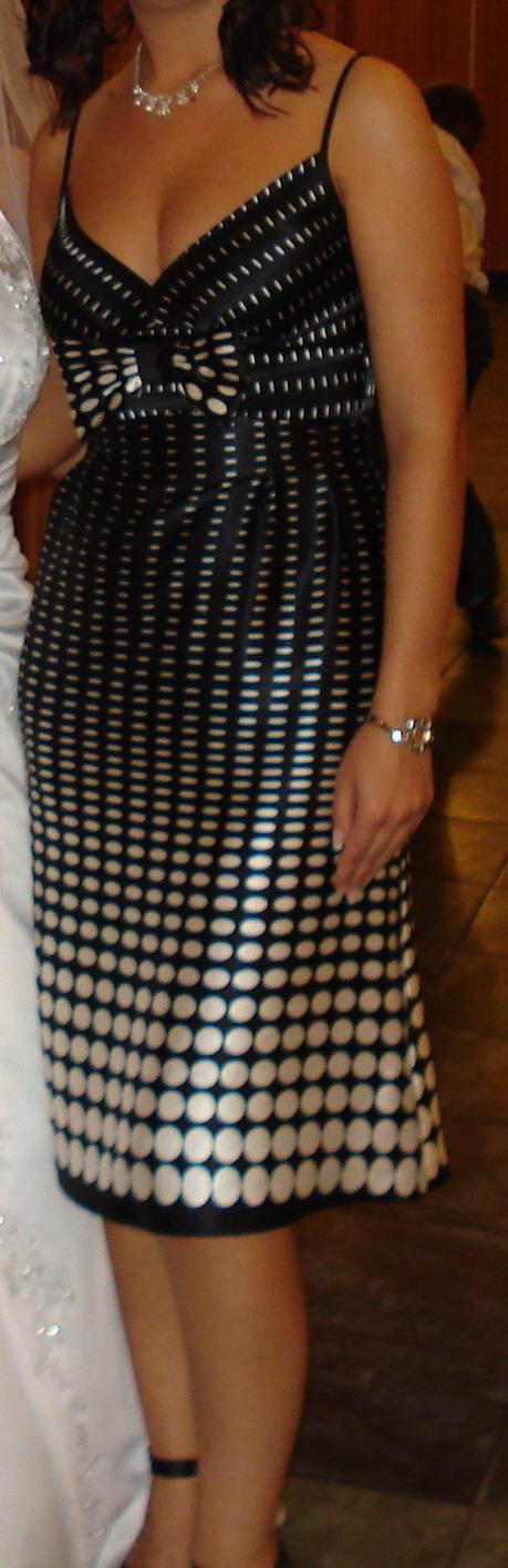 Koktailové šaty, veľkosť 36, 36
