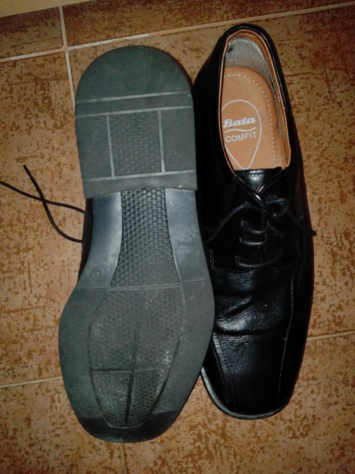 Kožené boty od bati 66821516be