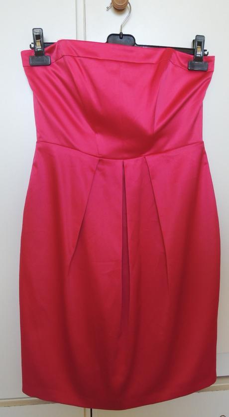 Cyklamenové  spoločenské šaty, 38
