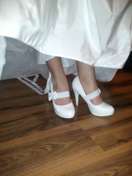 Pohodlne svadobne topanky, 37