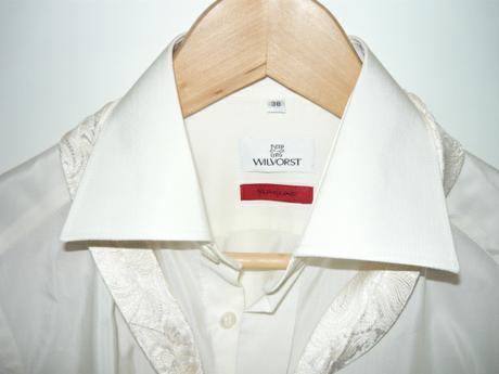 Svatební košile na manžetové knoflíky, 38
