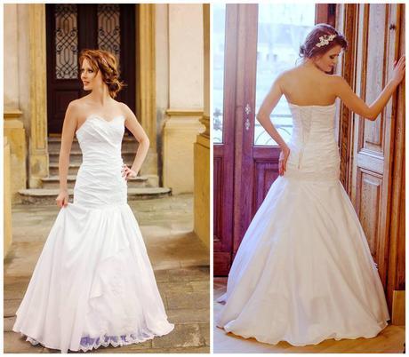 Svatební šaty na šněrovačku, 34