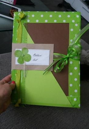 Svatební desky na Oddací list,