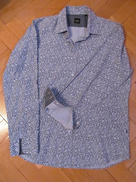 košile Hugo Boss regular fit L, 50