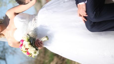 svadobné šaty princeznovský strih  36/38, 36