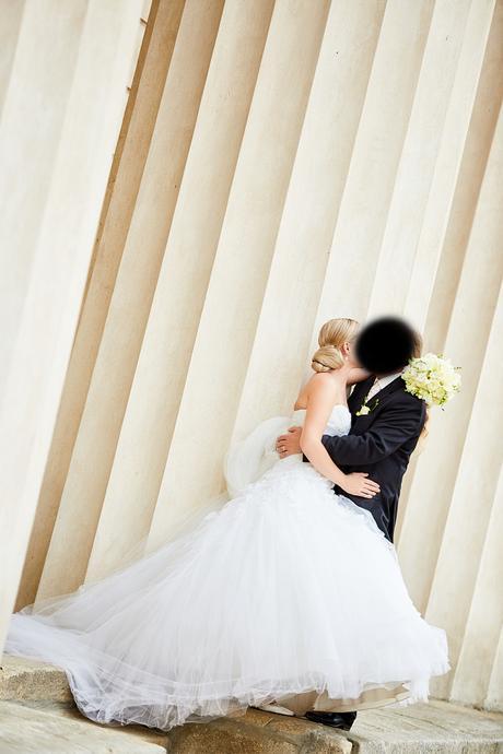 Svatební šaty Pronovias Barroco kupované v Nuance , 38