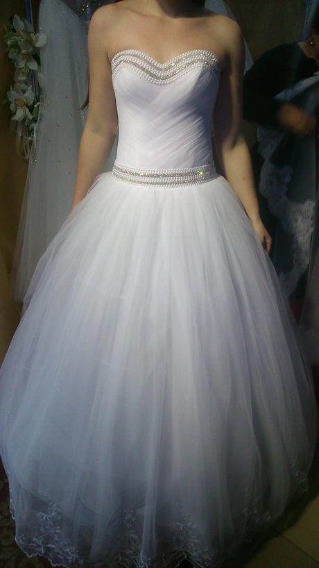 Svadobné šaty (38-42) + doplnky, 40