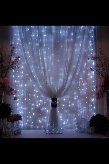 LED světýlka - barva modrá - 3ks,