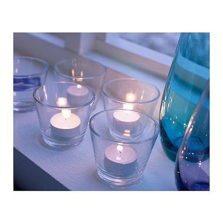 Svícínky na čajové svíčky 18ks,