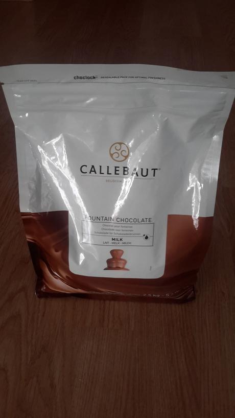 Belgická čokoláda do fontány Callebaut,