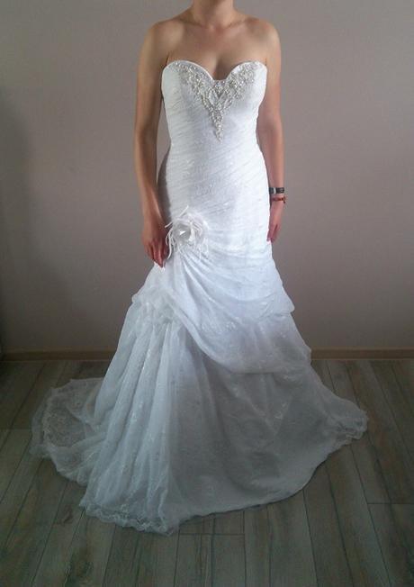 Svatební šaty styl 30.léta, 40