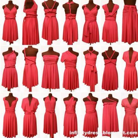 Infinity šaty na x-spôsobov, M